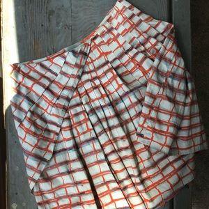 Maeve Anthropologie multi color skirt size 2